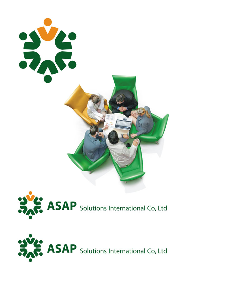 Логотип ASAP Solutions International